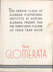 Page 6, 1933 Edition, Auburn University - Glomerata Yearbook (Auburn, AL) online yearbook collection