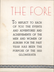 Page 7, 1933 Edition, Auburn University - Glomerata Yearbook (Auburn, AL) online yearbook collection