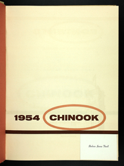 Page 5, 1954 Edition, Washington State University - Chinook Yearbook (Pullman, WA) online yearbook collection
