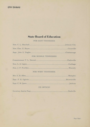 Page 10, 1923 Edition, East Tennessee State University - Buccaneer Yearbook (Johnson City, TN) online yearbook collection