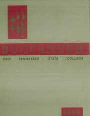 1956 Edition, East Tennessee State University - Buccaneer Yearbook (Johnson City, TN)