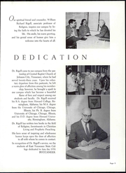 Page 15, 1958 Edition, East Tennessee State University - Buccaneer Yearbook (Johnson City, TN) online yearbook collection