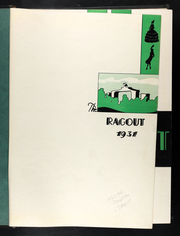 Page 5, 1931 Edition, Central Methodist University - Ragout Yearbook (Fayette, MO) online yearbook collection