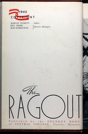 Page 6, 1943 Edition, Central Methodist University - Ragout Yearbook (Fayette, MO) online yearbook collection