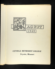 Page 5, 1963 Edition, Central Methodist University - Ragout Yearbook (Fayette, MO) online yearbook collection