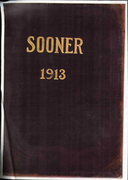 1913 Edition, University of Oklahoma - Sooner Yearbook (Norman, OK)