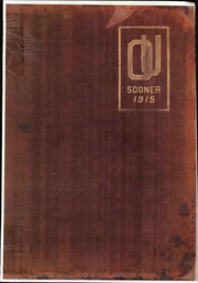 1915 Edition, University of Oklahoma - Sooner Yearbook (Norman, OK)