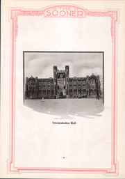 Page 13, 1917 Edition, University of Oklahoma - Sooner Yearbook (Norman, OK) online yearbook collection