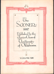 Page 5, 1917 Edition, University of Oklahoma - Sooner Yearbook (Norman, OK) online yearbook collection
