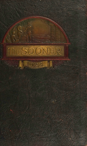 1922 Edition, University of Oklahoma - Sooner Yearbook (Norman, OK)