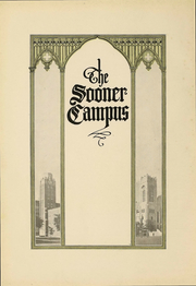Page 9, 1925 Edition, University of Oklahoma - Sooner Yearbook (Norman, OK) online yearbook collection