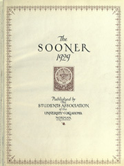 Page 9, 1929 Edition, University of Oklahoma - Sooner Yearbook (Norman, OK) online yearbook collection