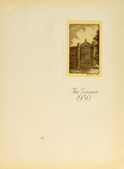 Page 5, 1930 Edition, University of Oklahoma - Sooner Yearbook (Norman, OK) online yearbook collection