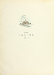 Page 5, 1931 Edition, University of Oklahoma - Sooner Yearbook (Norman, OK) online yearbook collection