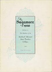Page 7, 1926 Edition, Southeast Missouri State University - Sagamore Yearbook (Cape Girardeau, MO) online yearbook collection