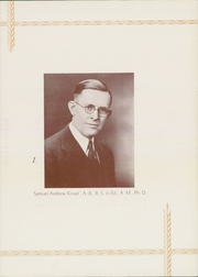 Page 11, 1933 Edition, Southeast Missouri State University - Sagamore Yearbook (Cape Girardeau, MO) online yearbook collection