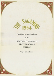 Page 7, 1934 Edition, Southeast Missouri State University - Sagamore Yearbook (Cape Girardeau, MO) online yearbook collection