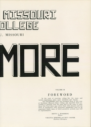 Page 7, 1952 Edition, Southeast Missouri State University - Sagamore Yearbook (Cape Girardeau, MO) online yearbook collection