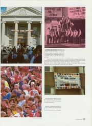 Page 17, 1986 Edition, Southeast Missouri State University - Sagamore Yearbook (Cape Girardeau, MO) online yearbook collection