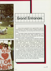 Page 7, 1986 Edition, Southeast Missouri State University - Sagamore Yearbook (Cape Girardeau, MO) online yearbook collection