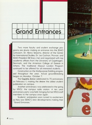 Page 8, 1986 Edition, Southeast Missouri State University - Sagamore Yearbook (Cape Girardeau, MO) online yearbook collection