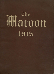 Page 1, 1915 Edition, John A Johnson High School - Maroon Yearbook (St Paul, MN) online yearbook collection