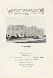 Page 11, 1922 Edition, John A Johnson High School - Maroon Yearbook (St Paul, MN) online yearbook collection