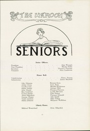 Page 17, 1922 Edition, John A Johnson High School - Maroon Yearbook (St Paul, MN) online yearbook collection