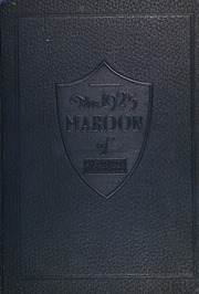 1925 Edition, John A Johnson High School - Maroon Yearbook (St Paul, MN)