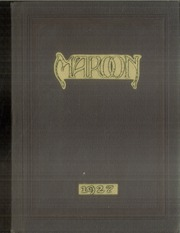 1927 Edition, John A Johnson High School - Maroon Yearbook (St Paul, MN)