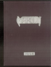 1928 Edition, John A Johnson High School - Maroon Yearbook (St Paul, MN)