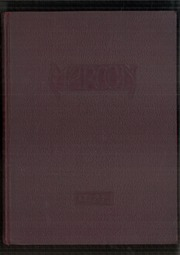 1932 Edition, John A Johnson High School - Maroon Yearbook (St Paul, MN)