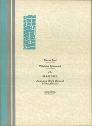Page 6, 1932 Edition, John A Johnson High School - Maroon Yearbook (St Paul, MN) online yearbook collection