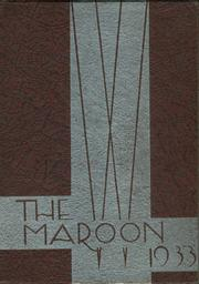 John A Johnson High School - Maroon Yearbook (St Paul, MN) online yearbook collection, 1933 Edition, Page 1