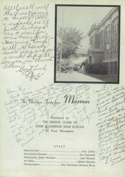 Page 5, 1944 Edition, John A Johnson High School - Maroon Yearbook (St Paul, MN) online yearbook collection