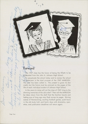 Page 8, 1947 Edition, John A Johnson High School - Maroon Yearbook (St Paul, MN) online yearbook collection