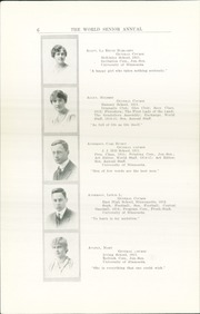 Page 12, 1915 Edition, Central High School - Cehisean Yearbook (St Paul, MN) online yearbook collection