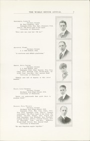 Page 13, 1915 Edition, Central High School - Cehisean Yearbook (St Paul, MN) online yearbook collection