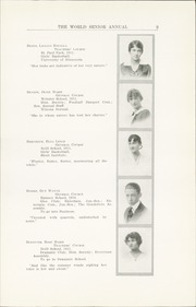 Page 15, 1915 Edition, Central High School - Cehisean Yearbook (St Paul, MN) online yearbook collection
