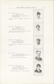 Page 17, 1915 Edition, Central High School - Cehisean Yearbook (St Paul, MN) online yearbook collection