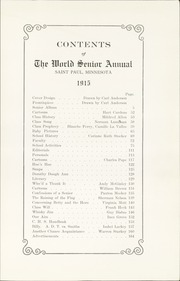 Page 9, 1915 Edition, Central High School - Cehisean Yearbook (St Paul, MN) online yearbook collection