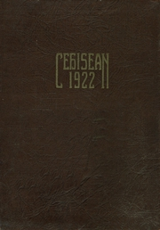 Page 1, 1922 Edition, Central High School - Cehisean Yearbook (St Paul, MN) online yearbook collection