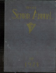 Page 1, 1923 Edition, Central High School - Cehisean Yearbook (St Paul, MN) online yearbook collection