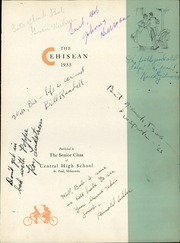 Page 7, 1933 Edition, Central High School - Cehisean Yearbook (St Paul, MN) online yearbook collection
