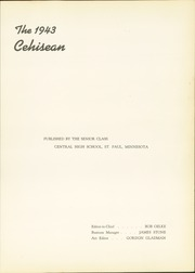 Page 5, 1943 Edition, Central High School - Cehisean Yearbook (St Paul, MN) online yearbook collection