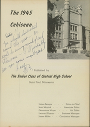 Page 5, 1945 Edition, Central High School - Cehisean Yearbook (St Paul, MN) online yearbook collection