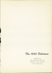 Page 5, 1946 Edition, Central High School - Cehisean Yearbook (St Paul, MN) online yearbook collection