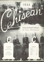 Page 5, 1955 Edition, Central High School - Cehisean Yearbook (St Paul, MN) online yearbook collection