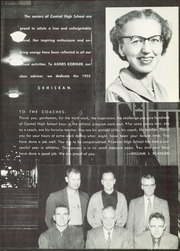 Page 9, 1955 Edition, Central High School - Cehisean Yearbook (St Paul, MN) online yearbook collection