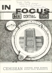 Page 5, 1957 Edition, Central High School - Cehisean Yearbook (St Paul, MN) online yearbook collection